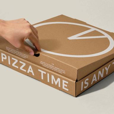 Round-the-Clock Pizza Box