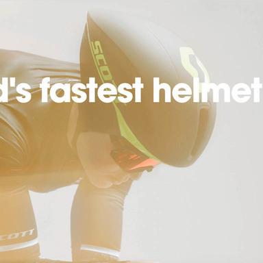 Scott Split Plus: The World's Fastest Helmet