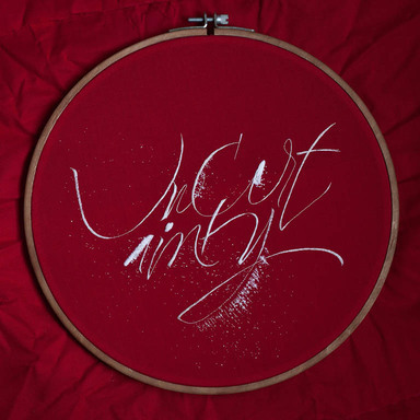 Calligraphic Embroideries