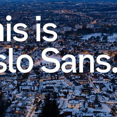Oslo Sans