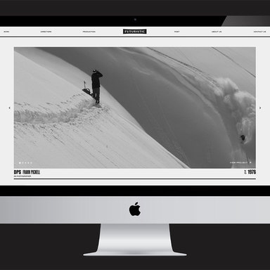 Futuristic Film + Post Brand Refresh