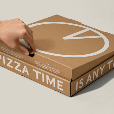 Round-the-Clock Pizza Box