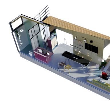 The first house built by data