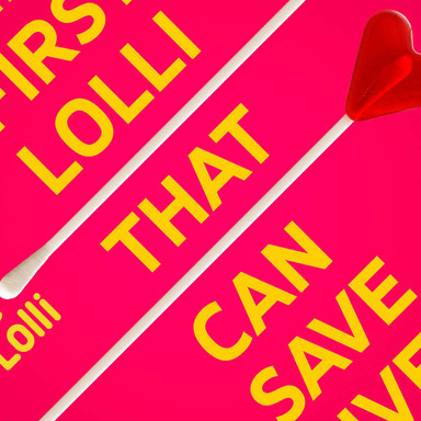Life Lolli - A lollipop designed to save lives