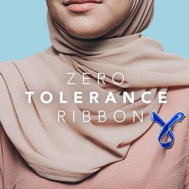 Zero Tolerance Ribbon