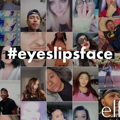 e.l.f. #eyeslipsface TikTok Campaign