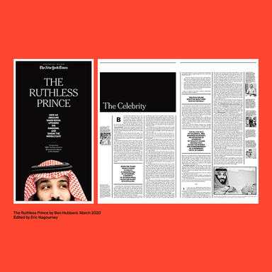 NYT special print sections