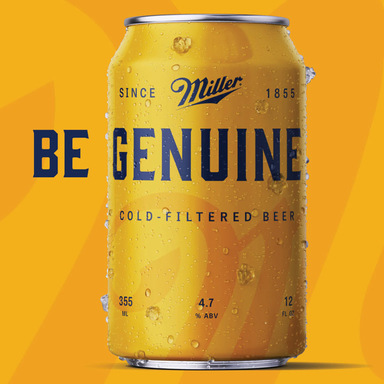 Miller Genuine - Beer for Genuine People