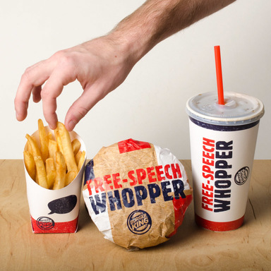 Free-Speech Whopper