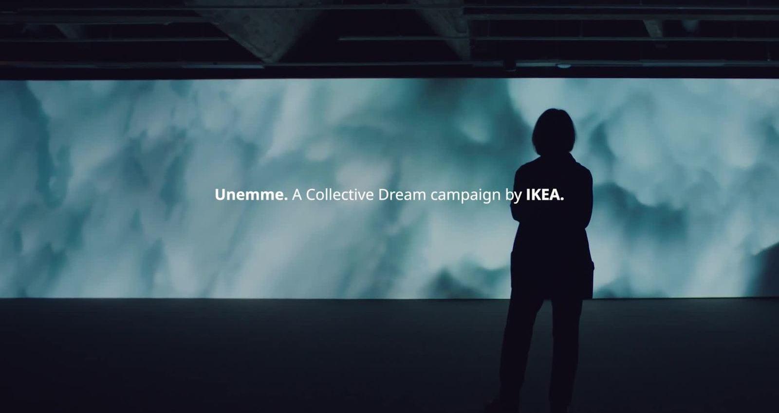 IKEA creates art from Finnish dreams.