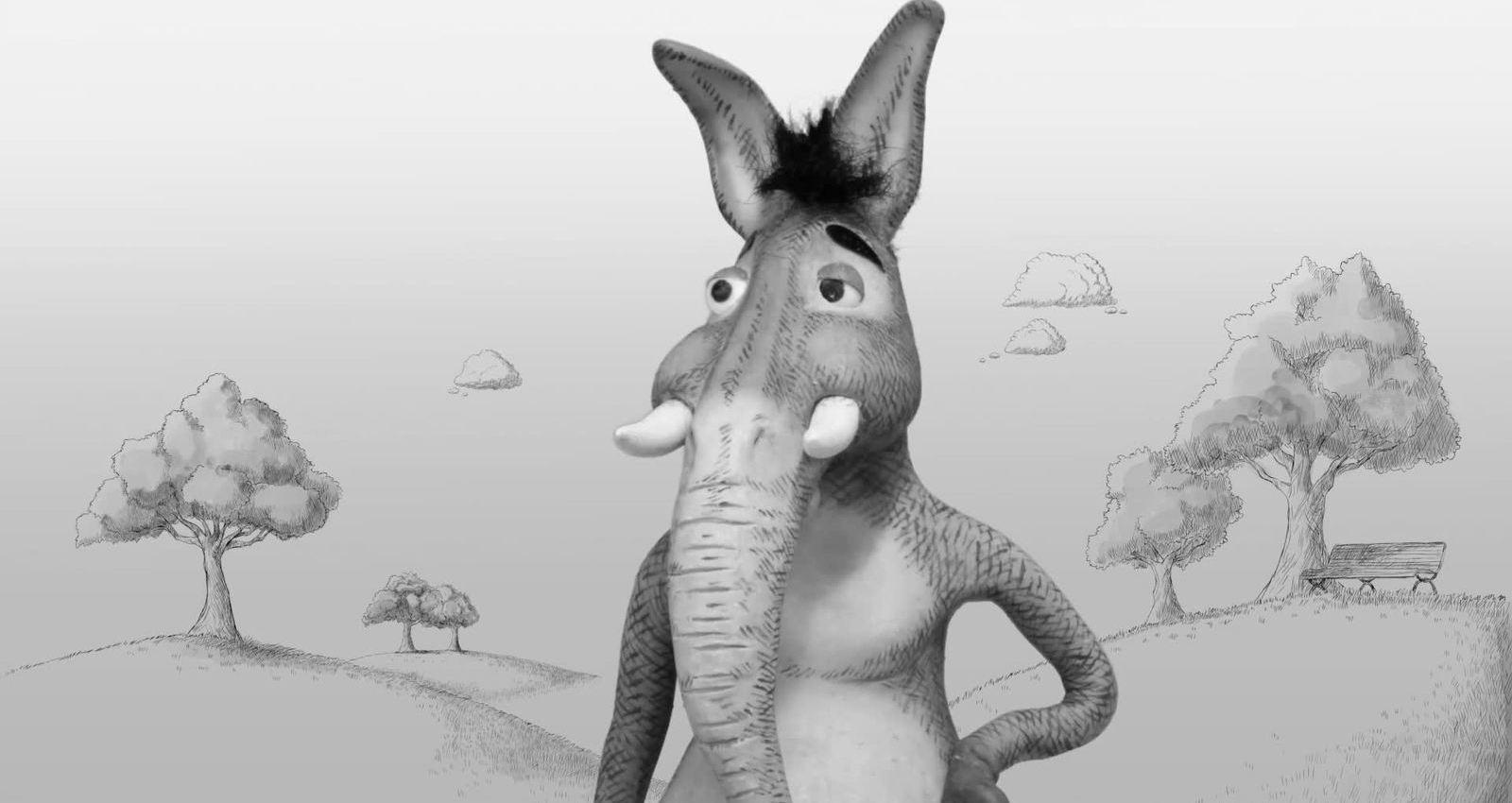 Donkey & Elephant