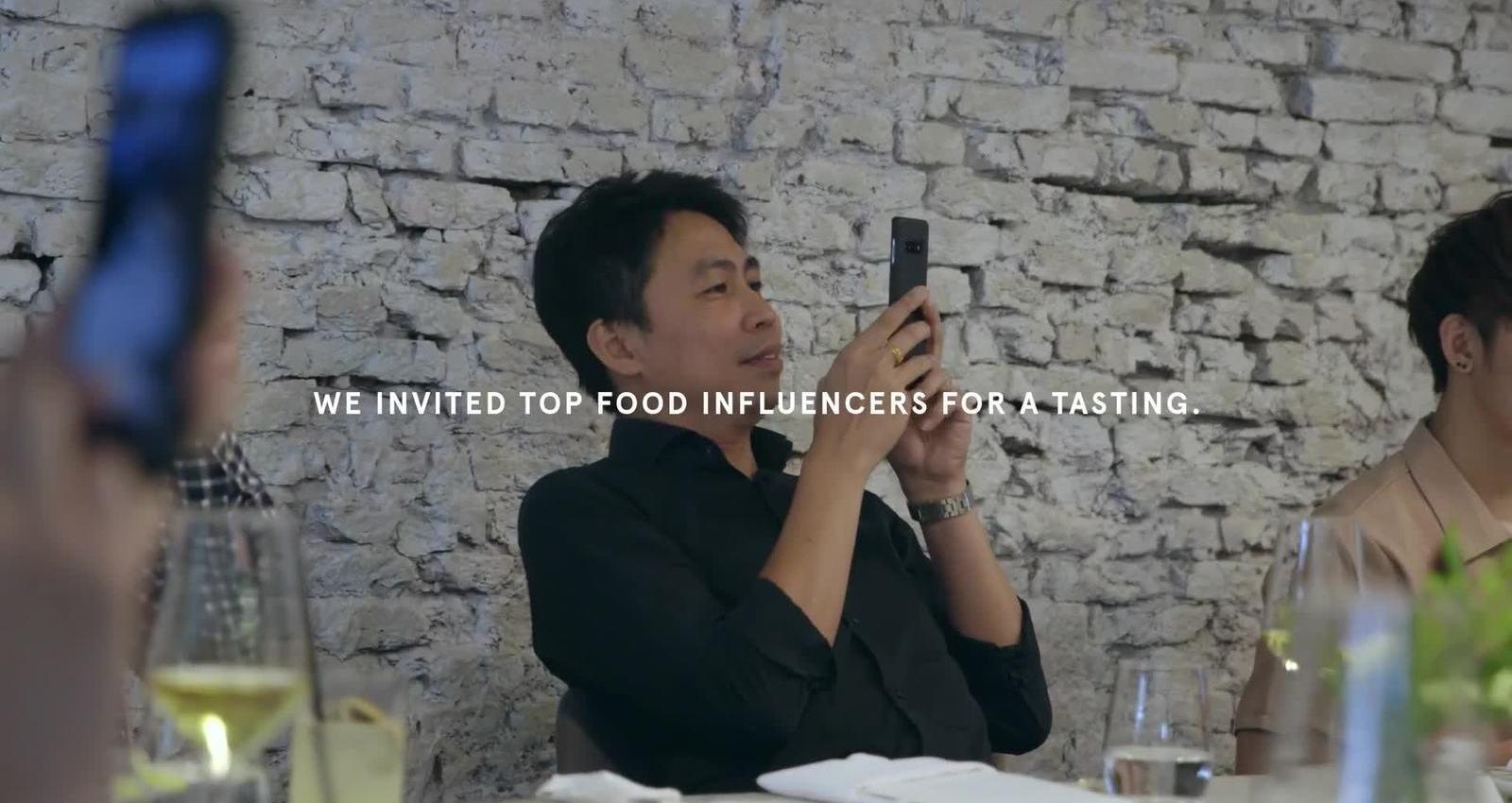 Food Influencers Tasting Dog Food