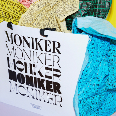 Moniker physical and digital retail