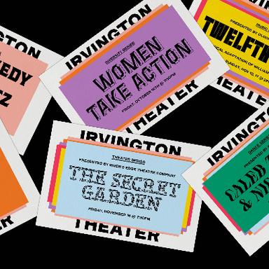 Irvington Theater Brand Identity