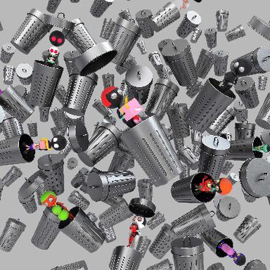 Waste-sorting Blind Box