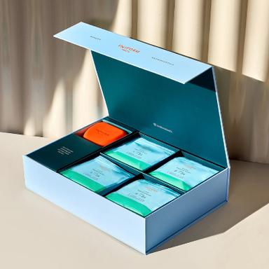 Uniform Teeth Clear Aligner Packaging