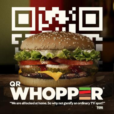 QR Whopper