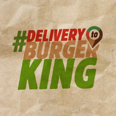 Delivery to Burger King