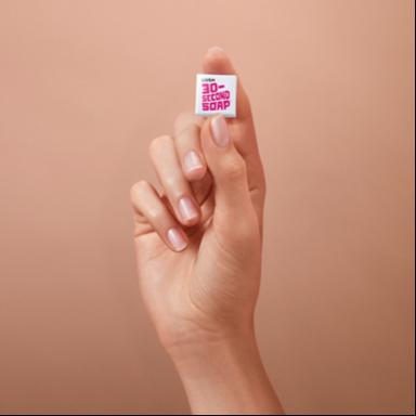 Self-Timing Soap