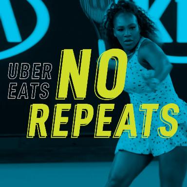 Uber Eats No Repeats