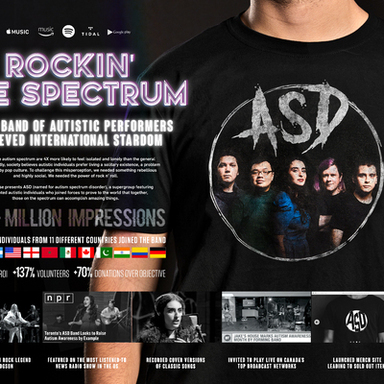 ASD: Rockin' the Spectrum