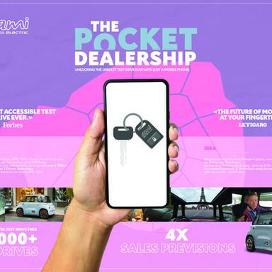 The pocket dealership
