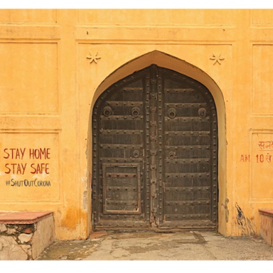 Stay Safe behind the #DoorsOfIndia