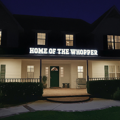 Homes of the Whopper