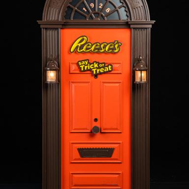 Reese's Halloween Door