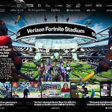 Verizon Fortnite Stadium