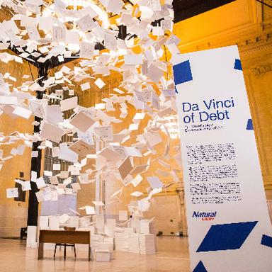 Natural Light Da Vinci of Debt