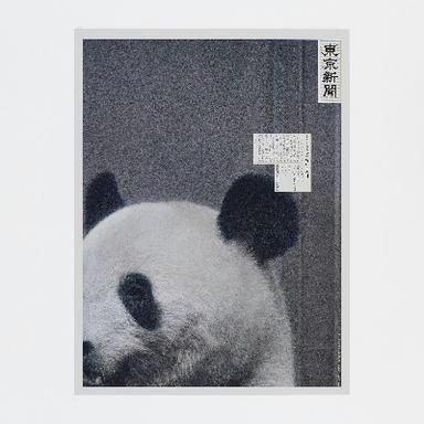 Panda Teleportation via Newspaper