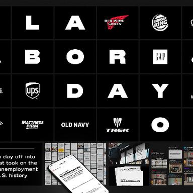 #LaborDayOn