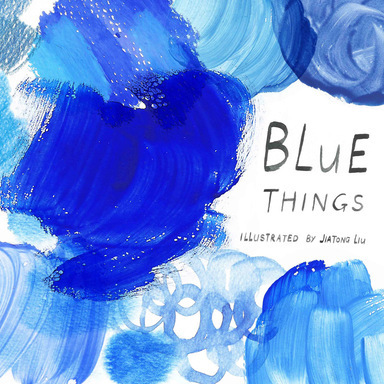 Blue Things Picturebook