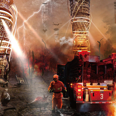 Fireproof Ecological Vertical Tower