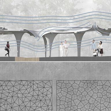 Heat Flow Exchanger–Biomimicry pavilion