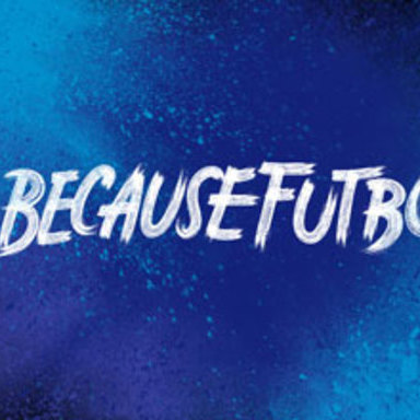 #BecauseFutbol