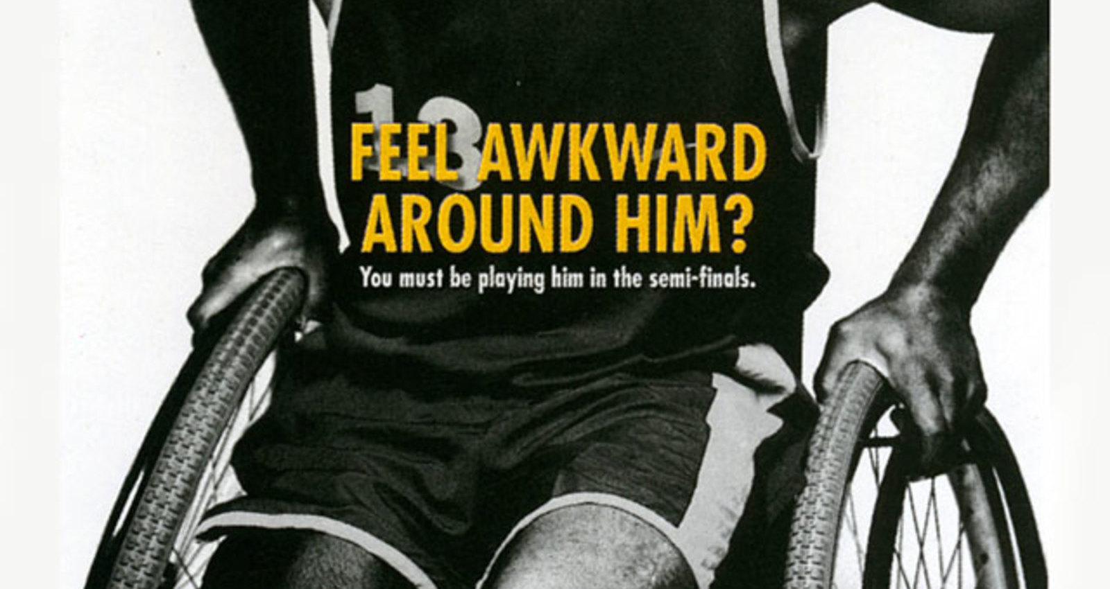 Nike Paralympics - Stare, Sorry, Awkward