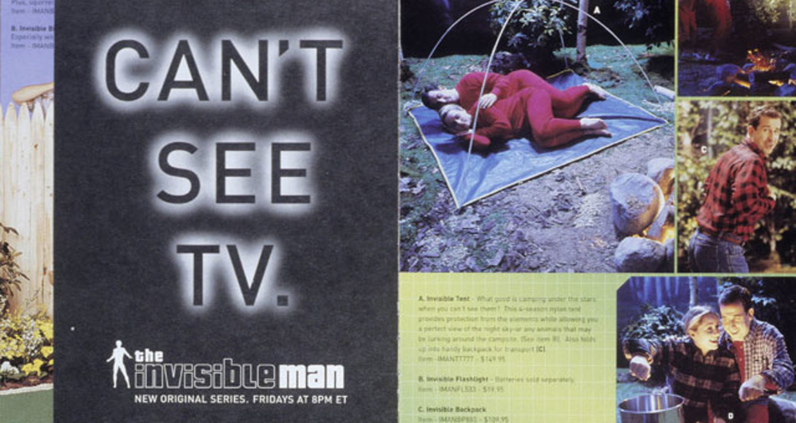 Invisible Man Catalog