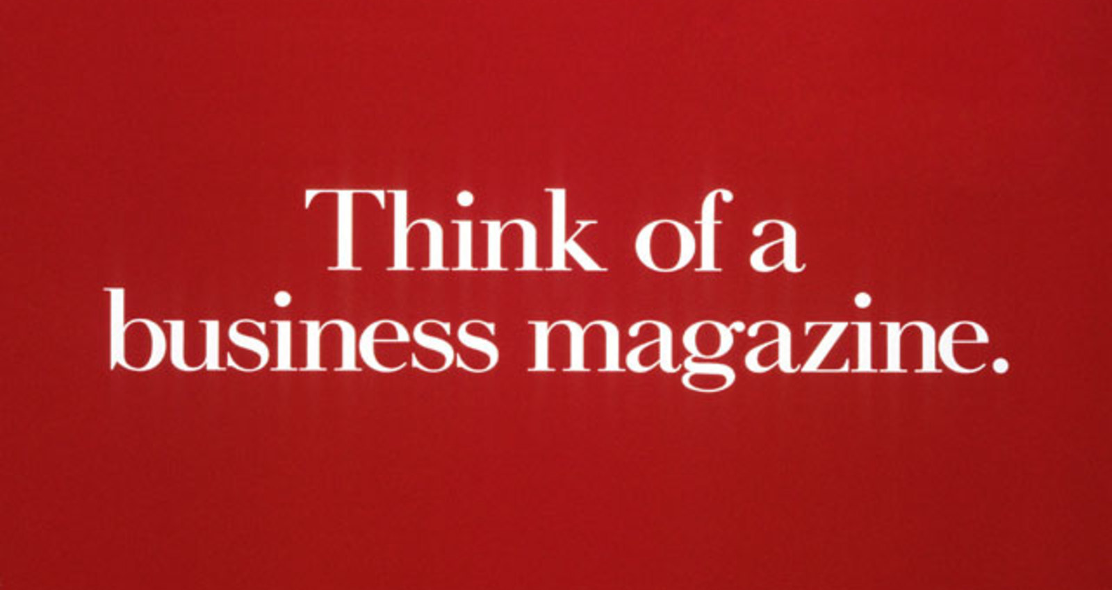 Apple, Heineken, Benetton, The Economist