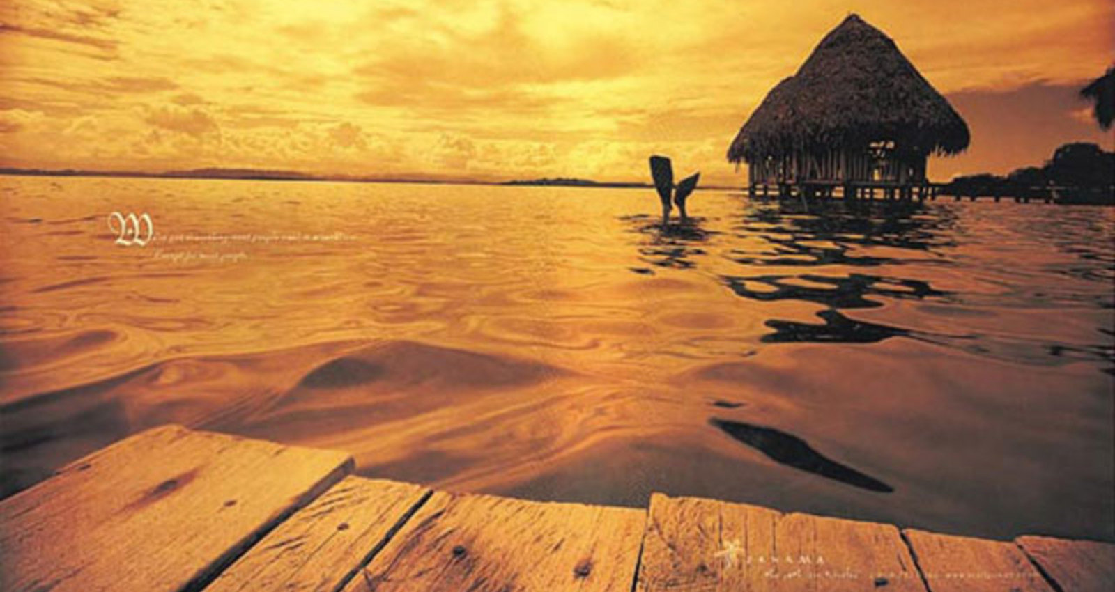 Bocas Lunch, Kuna Indians, Hut & Dock