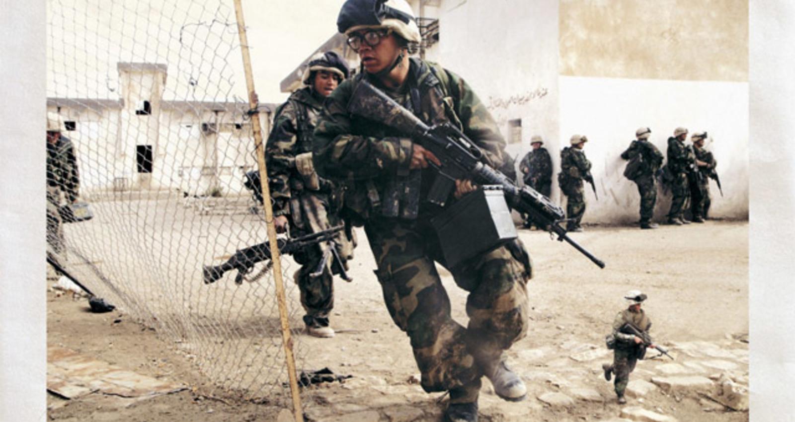 Pararescue Jumpers, 7th Marines, 16 Air Assault, Desert Rats