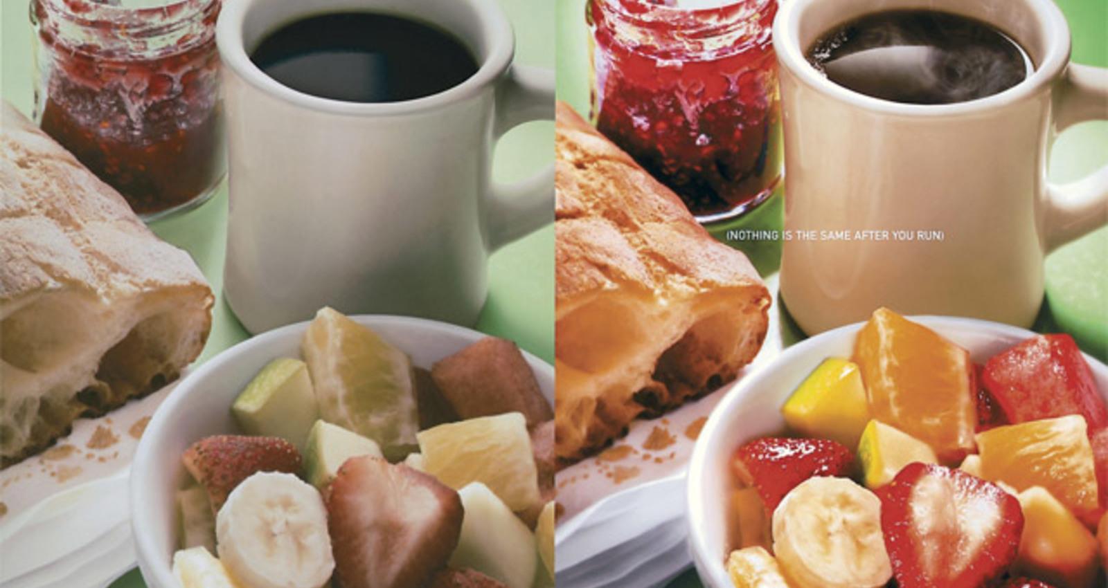 Breakfast, Water, Shower