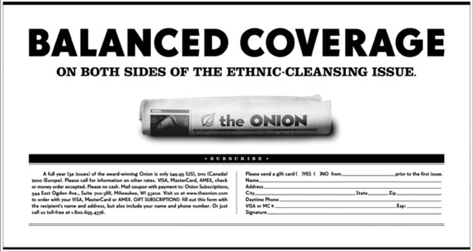 The Onion Campaign