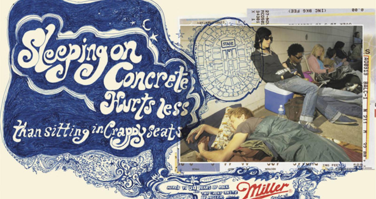 Tickets-Garage-Sleeping
