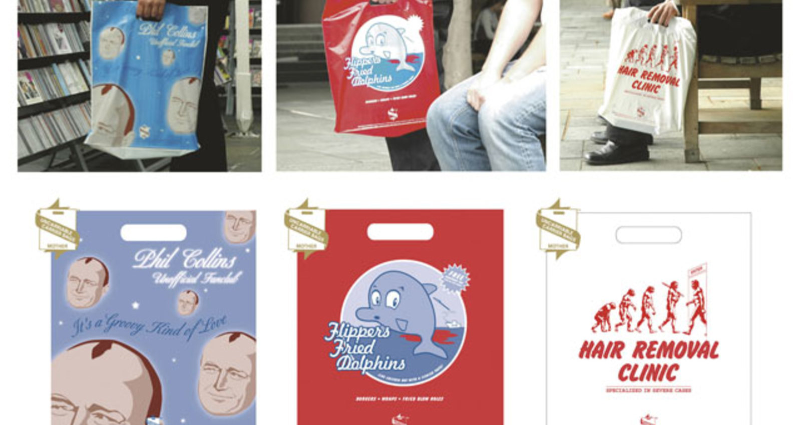 Uncarriable Carrier Bags