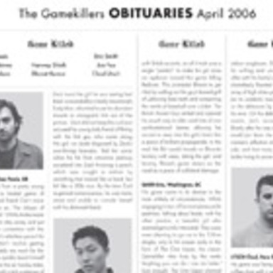 The Gamekillers Obituaries