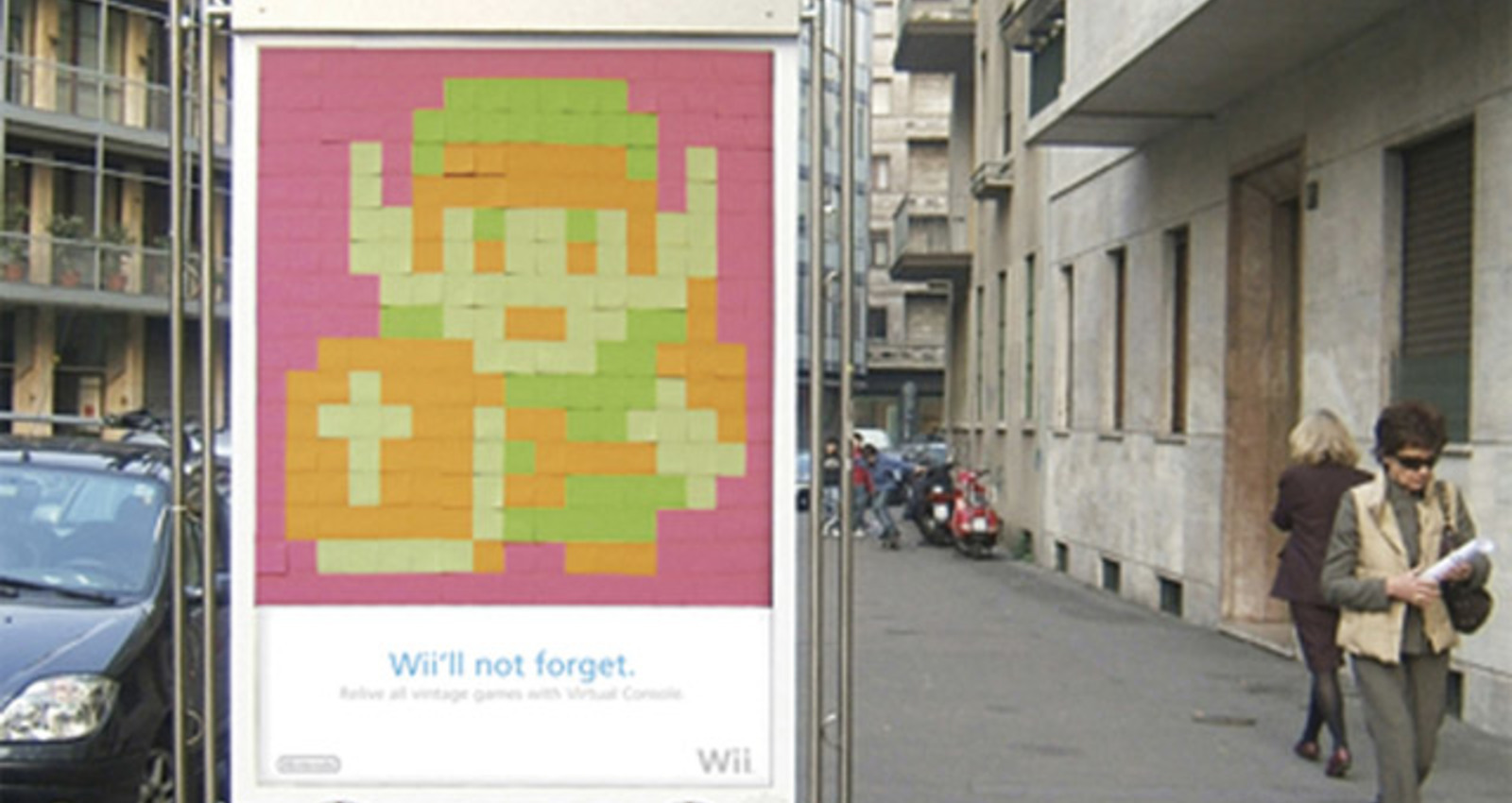 Nintendo Wii Post it