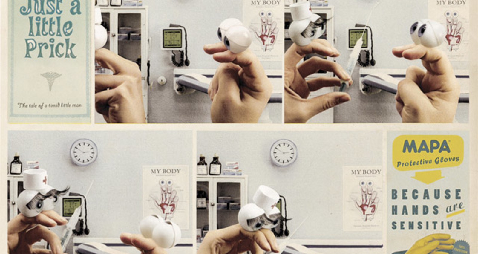 Sensitive hands campaign