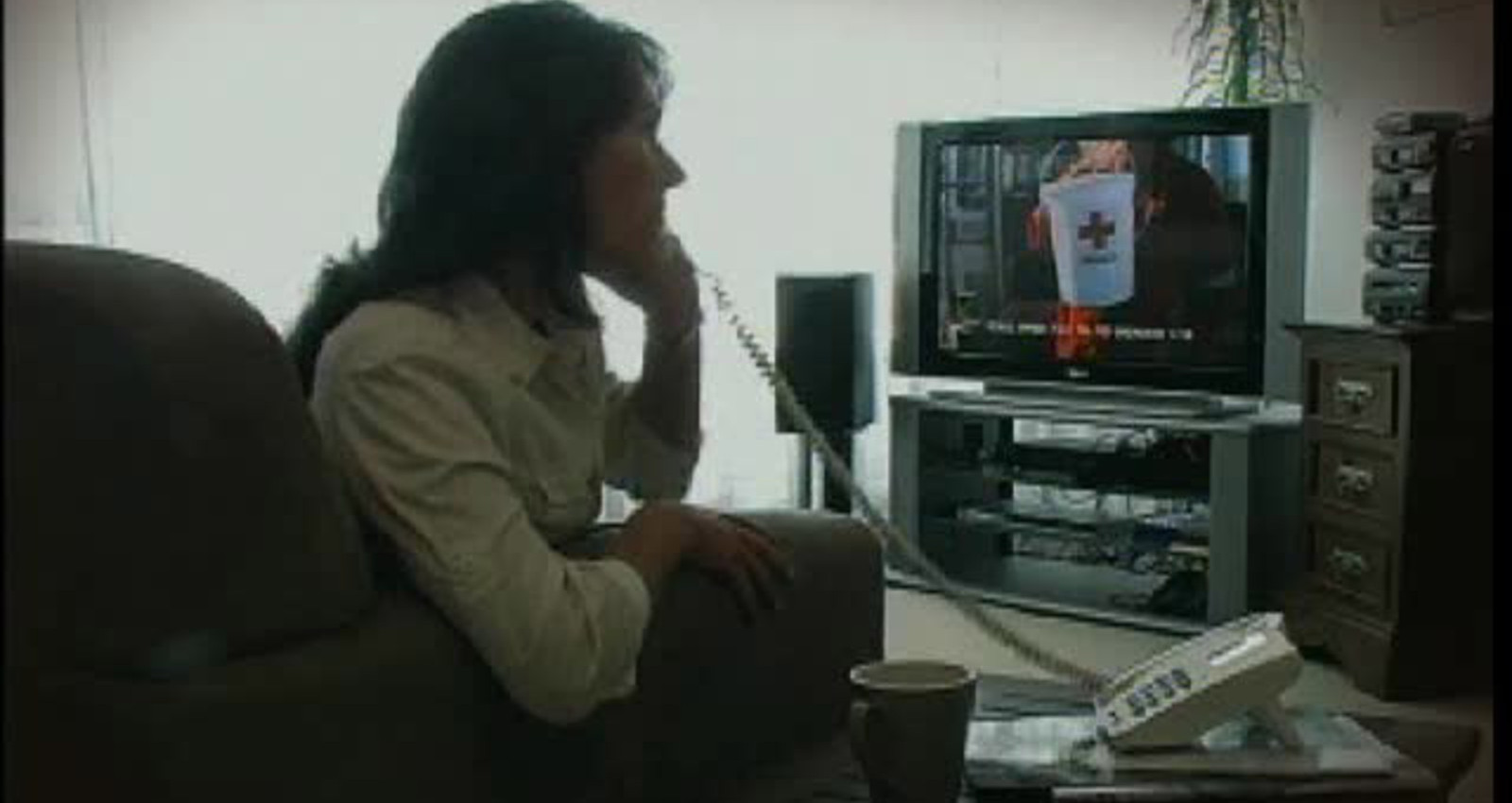 THE TV AD THAT PHONED YOU